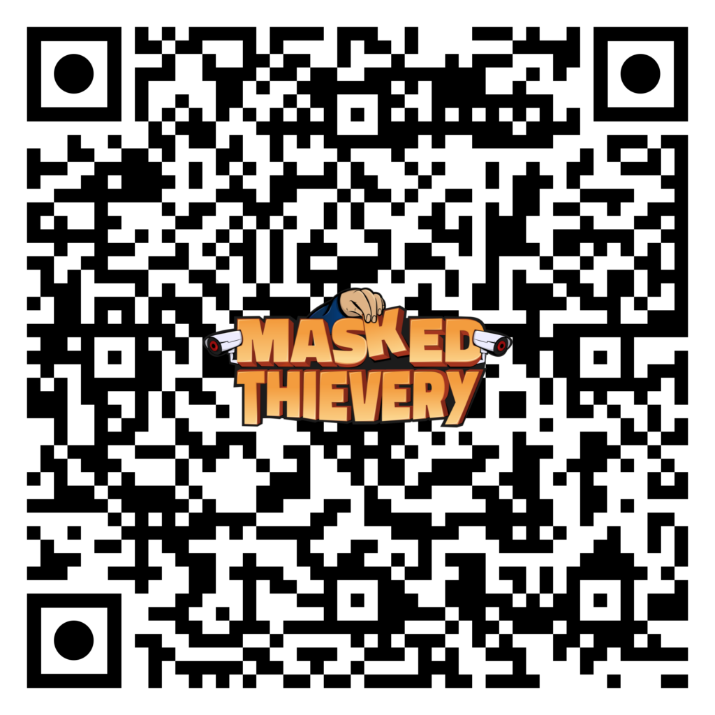QR-Code for accessing Masked Thievery on Google Play Store